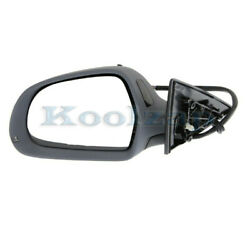 08-13 A5 Quattro Power Heated Memory W/turn Signal Lamp Mirror Left Driver Side