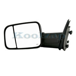 09-12 Ram Pickup Truck Tow Mirror Power Heated W/signal And Puddle Lamp Left Side