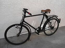 Vintage Wwii Swiss Army Mo-05 Bicycle Dated 1945