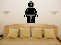 Lego Man Nursery Childrens Bedroom Living Dining Room Decal Wall Sticker Picture