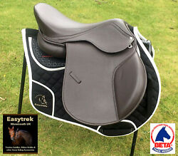 Fully Treeless Easytrek Flexee Leather Saddle Suitable For Low And High Wither