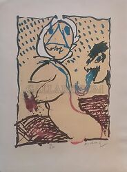 Pierre Alechinsky La Taille Douce 1969 | Signed | Of 100 | See Live | Gallart