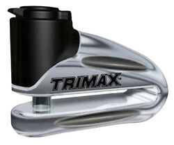 Trimax Hardened Metal Motorcycle Rotor Lock Motorcycle Disc Lock With 10mm Pin