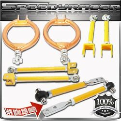 Fits 240sx S13 Ca18 Suspension Control Arm Kit Camber Traction Tension Toe Arm