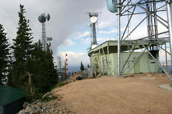 High Elevation Mountain Top Communications Site