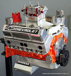 434ci Small Block Chevy Pro-street Engine 663hp+ Carband039d Built-to-order Dyno Tune