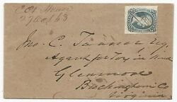 Csa Scott 9 T-e-n On Adversity Cover Campbell Court House October 27 1863