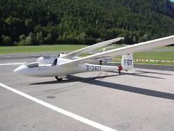 Discus Schempp-hirth Glider Airplane Wood Model Replica Large Free Shipping