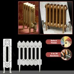 The Victoria 2 Column 460mmhigh Cast Iron Radiators 3 To 30 Sections Wide