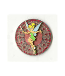 Wdw - Stained Glass Princess Series Tinker Bell Disney Pin