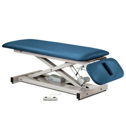 Treatment Exam Table Power Height Drop Section Space Saver Wedgewood