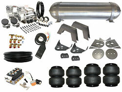Air Suspension System 3/8 Accuair 86-93 Mazda B2200 B2000 Pickup Airbag Kit Fbss