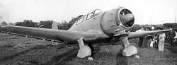 Hs-42 Hispano-suiza Spain Trainer Airplane Wood Model Replica Large Freeshipping