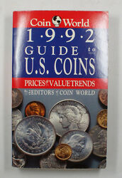 Coin World 1992 Guide To Us Coins Prices And Value Trends