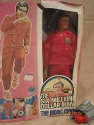 kenner six million dollar man aka bionic