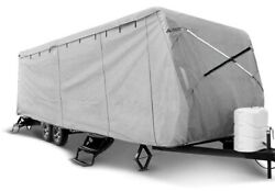 Leader Accessories Travel Trailer Rv Cover Fits 35and039-38and039 Camper 5 Layer