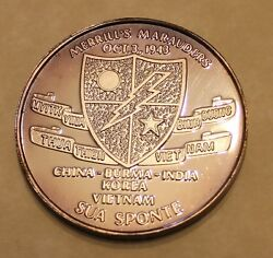 3rd Ranger Battalion Serial 0006 Army Challenge Coin