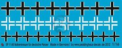 Peddinghaus 1 16 Balkenkreuz Iron Cross for German Armor WWII 3 types 1145 $16.53