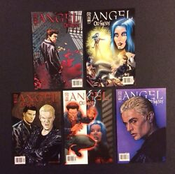 Angel Old Friends 1-5 Comic Books Complete Series Idw 2005 Vf/nm Btvs Whedon