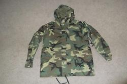 Military Parka Cold Weather Large Long Bdu Woodland Men Boys Army Usaf 45