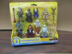 Fisher Price Imaginext 5 Monsters For Mad Scientist Lab Dracula Zombie Witch