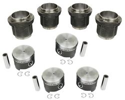 Volkswagen Bug / Ghia / Bus / Type 3 - 90.5mm Piston And Liner Set 1776cc Engine