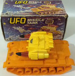 Ufo Very Rare Missile Tank Electronic Model Made In Hong Kong. Item 2856. Dj