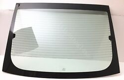 Fits 2011-2014 Ford Mustang 2 Door Coupe Rear Window Back Glass Heated High Amp