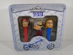Pez Collectibles--orange County Choppers Set New