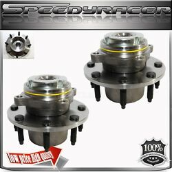 Wheel Hub Bearing Front For 99 Ford F250super Duty Truck 4wdsrw2wheel Abs1pair