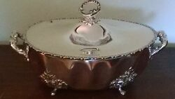 Antique Silverplated Soup Tureen