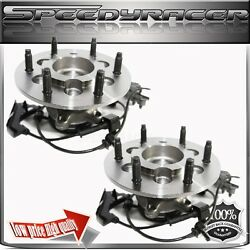 Two Front Wheel Hub For 04-08 Chevy Colorado4 Models W/rpo Code Zq8 Passengrt