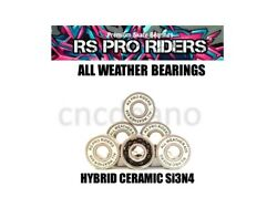 All Weather Ceramic Si3n4 And S/s 608 Rs Bearings Skateboard Scooter Roller Hockey
