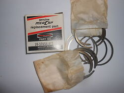 39-37654a12 New Genuine Vintage Mercury Piston Rings 12 Rings Inventory A11-7