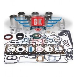 Detroit 60 Series 14.0l - 3mm Top Ring And Piston 23533453 - Overhaul Kit