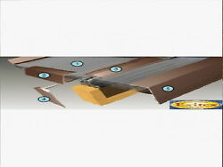 Complete Timber Supported Polycarbonate Roof Kit 5 Metre Long 8 Metre Wide.