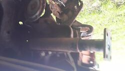 Nissan Oem 280zx 79-83 Front Bumper Shocks Mounting Bracket And Bells Used