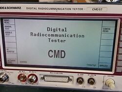 Rohde And Schwarz Cmd 57 Digital Communication Tester With Options