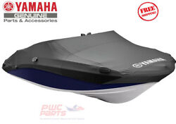 Yamaha 242 Limited Sx240 2015+ Deluxe Premium Cover Boat Black Mar-242nt-bk-15