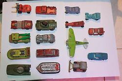 lot of assorted die cast toys matchbox