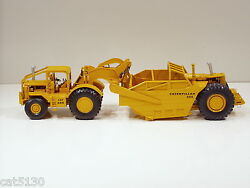 Caterpillar 666 Scraper W/ Long Rops And High Sides - 1/50 - Rr Models Of France