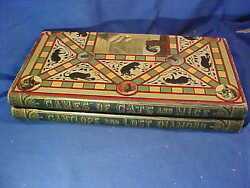 1887 game of cats mice board game