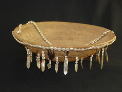 A Large And Early Pomo Gift Basket, Native American Indian, Circa 1895