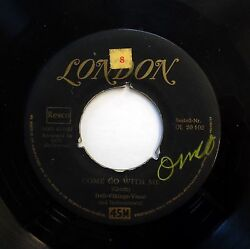 Dell-vikings 45 Import Come Go With Me / How Can ..london Doowop E2150