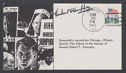 Hubert H. Humphrey, Democratic Presidential Candidate On Robert F. Kennedy Cover