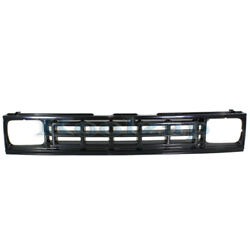87-93 Ram 50 Pickup Truck Front Grill Grille Assembly Black Shell Insert Plastic