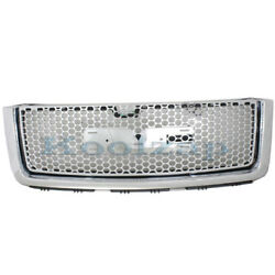 07-13 Sierra Denali Truck Front Grill Grille Assembly Chrome Gm1200631 22761794