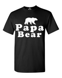 Papa Bear T-Shirt Father's Day Gift Dad Life Daddy New Dad For Dad Cute Shirts