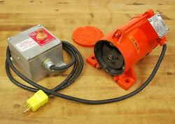 Vibco Sfc-100 Electric Vibrator 115v 4.2 Amp Phase 1 Rpm 3450 - Parts Only