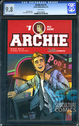 Archie 1 - Cgc 9.8 - Sold Out - First Print - Very Rare In High Grade - Hot
